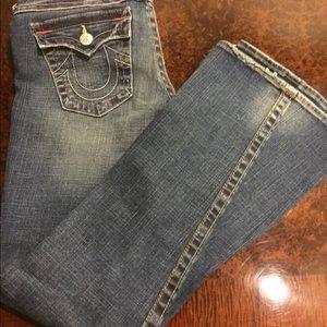 Gently worn pair of True Religion jeans!